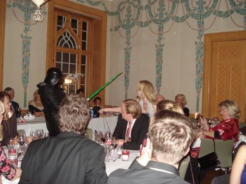 Lotta fajtas med Darth Vader