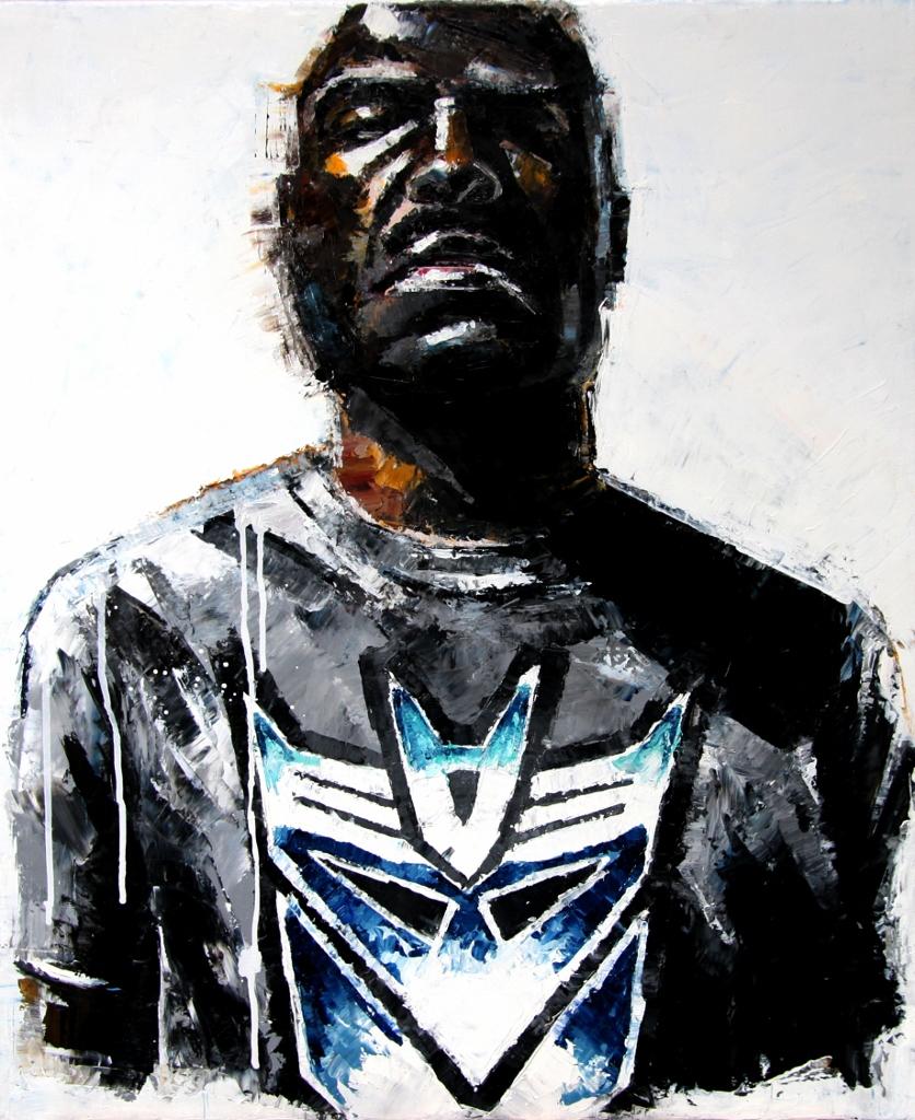 Devon, oil on canvas, 46x55 cm, 2011.
