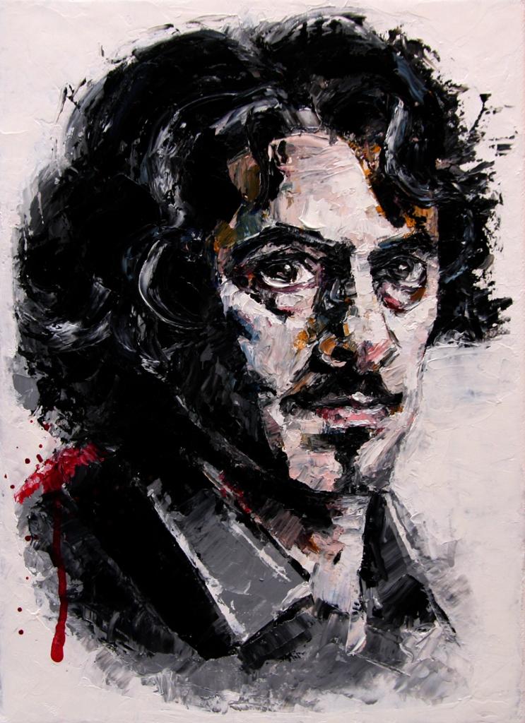 Greg, oil on canvas 24x33 cm. 2011.
