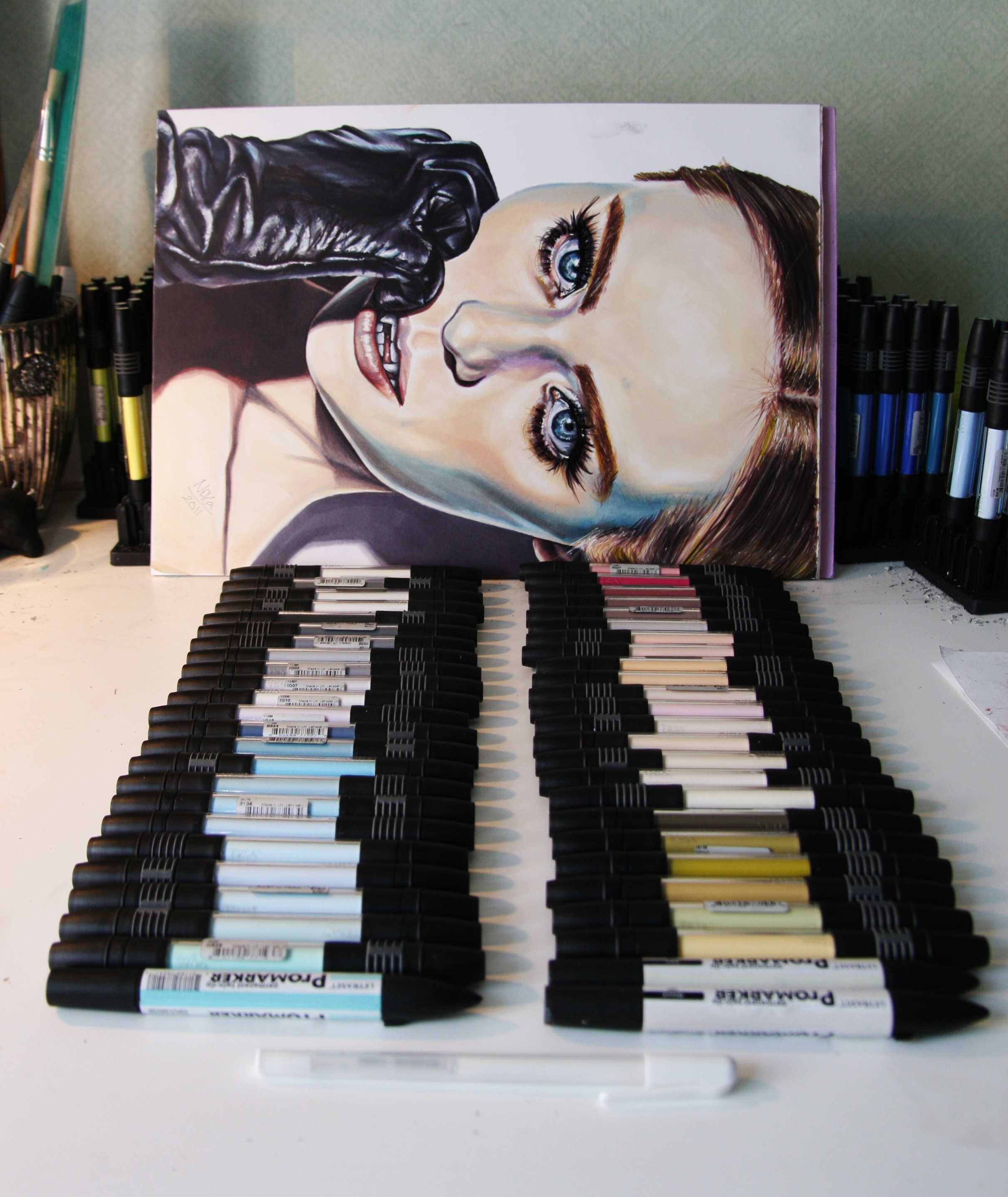Tria Markers & Promarkers.